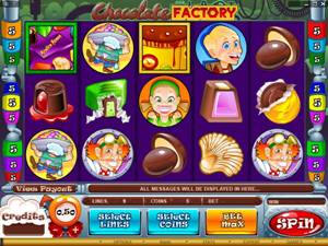 Chicolate Factory Slot Screenshot