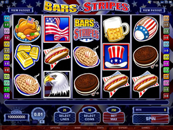 Play Bars and Stripes Slot at Spin Palace Casino