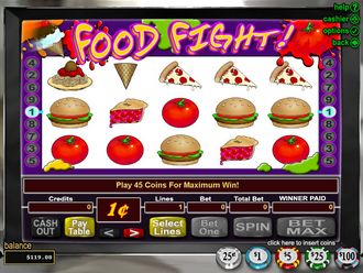 Food Fight Screenshot