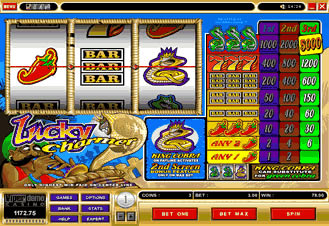 Play Lucky Charmer at Golden Tiger Casino