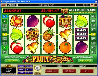 Fruit Fiesta Slot Screenshot