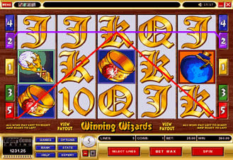 Winning Wizards Slot Screenshot